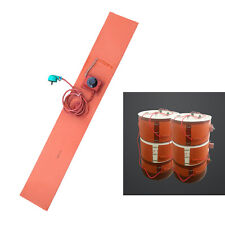 200L Silicon Rubber Band Heater Oil Drum Heating Belt Adjustable 30-150℃ 1900W