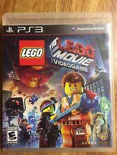 PS3 Lego The Movie Viedogame 2014 EUC No Manual
