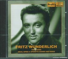 CD Fritz Wunderlich `The Legend - Arias, Opera & Operetta` Neu Puccini, Strauss