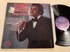 Johnny Mathis Sings Of Love LP Hallmark Stereo UK Press EX!!!!