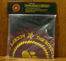 """Boyds 10th Anniversary Friendship Flag. 18.5"""" x 28"""" #17870-03, From Retail Store"""