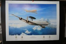 3 AVIATION LIMITED EDITION PRINTS RAF 617, 30, 8 & 23 SQUADRONS ARTIST SIGNED