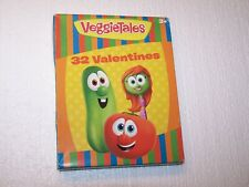 New in the sealed package 8 designs 32 Veggietales Valentines 2017