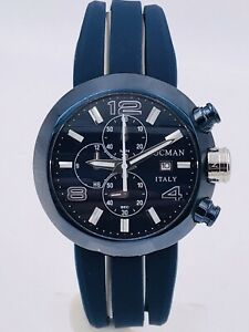 Orologio Locman Change 420BLB/610 Acciaio 3 Bracciali 46mm Scontatissimo Nuovo