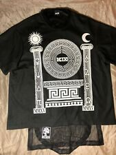 KTZ T.W.T.C Grecian Print Layerd Mens T-Shirt, Size M ( Can Fit Also L )