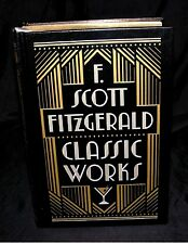 F. Scott Fitzgerald Classic Works ~ Leather Bound First Edition, First Printing