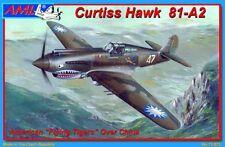 Avion de chasse US. CURTISS HAWK 81-A2 'FLYING TIGERS' - KIT AML 1/72 n° 72023