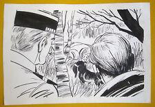 DESSIN ORIGINAL GUY LEHIDEUX PARU DANS AKIM 595 / POLICE
