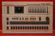 Vintage Roland TR-707 Analog Drum Rhythm Machine Sequencer TR 707 U664 190904