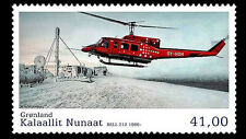 Greenland   2014 AVIATION IV   HELICOPTER     mnh/postfris c