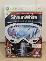 Shaun White Snowboarding Xbox 360 Target Limited Edition Ubisoft  - NEW / SEALED