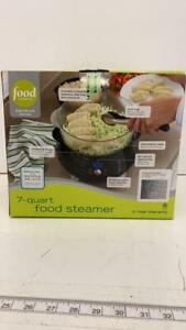 Food Network 7 Quart Food Steamer Signature Series in box