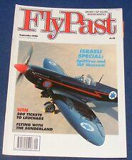FLYPAST MAGAZINE SEPTEMBER 1990 - ISRAELI SPECIAL: SPITFIRES AND IAF MUSEUM
