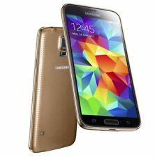 "Gold Unlocked 5.1"" Samsung Galaxy S5 G900P 4G Mobile Phone 16GB 16MP Waterproof"