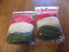New 2 Pkgs. Sisal Naturals from Celebrate It- Crafts / Floral / Gift Bag Filler