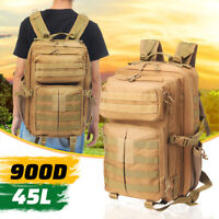 Military Tactical Molle Army Backpack Outdoor Travel Bag Sport Camping   -)