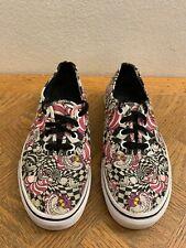 Vans Disney Cheshire Cat Alice In Wonderland Theme Sneakers Men 5.5 Women 7
