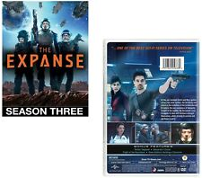 THE EXPANSE 3 (2018): SyFy Mars v Earth Space  War TV Season Series NEW DVD R1