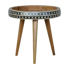 Unusual Quirky Vintage Retro Boho Scandi Style Side End Table / Plant Stand