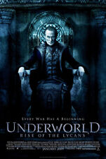 Underworld Rise of the Lycans Original Movie Poster One Sheet 2009 27 x 40