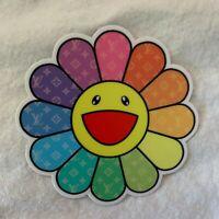 Takashi Murakami Flower Vinyl Weatherproof Sticker Decal Car Laptop Window