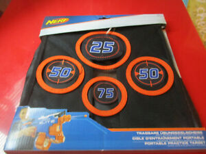 Nerf Portable Practice Target Age 8+ Years new