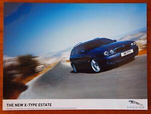 The New X-Type Estate Jaguar - Colour Press Publicity Photo