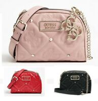 Shanina Quilt Mini Crossbody Bags Double Zip Women Purse 3 Colors NWT VG743269