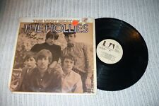 The Hollies LP, The Very Best Of The Hollies, UA-LA329, 1975, VG+