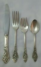 "Reed & Barton ""Florentine Lace"" Sterling Silver Flatware Set"