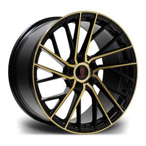 """20"""" Stuttgart SF15 Alloy Wheels Bronze 5x112 fits Audi A4   A5   A6   TT"""