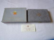Leere Schatulle für KMS Vatikan Proof PP 2006 incl. Zertifikat und Umverpackung