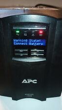 No Battery Apc SmartUps Smt1000 Lcd 1000Va 700W 120V Uninteruptable Power Supply