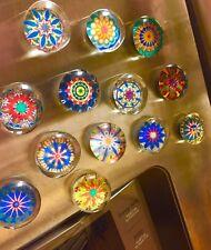 Glass Magnets - Original Hex Sign Designs -  Set of 12