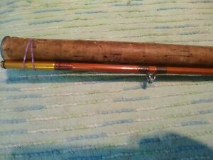 """Vintage Montague Bamboo 8'6""""  2pc spinning rod in good condition"""