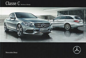 brochure 2016 MERCEDES-BENZ CLASSE C BERLINE & BREAK !!! _ en français _________