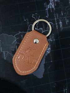 # 1 Dad Key Chain Brown leather  DASHING Fine Gifts #209059