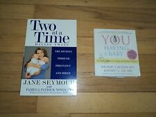 2 Books Two at a Time Jane Seymour Pregnancy Journey & You Having a Baby Dr. Oz