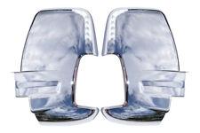 Ford Transit MK8 Chrome Door Wing Mirror Covers ABS Trim Set Pair SHORT Arm 2014