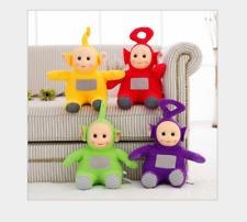 4PCS 10Inch Teletubbies Plush Toy TINKY WINKY DIPSY LA LA PO Toy Sit Soft Doll