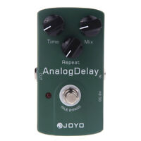 JOYO Analog Delay Electric Guitar Effects Pedal with Repeat Funtion 3 Mode