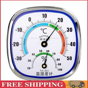 Wall Mounted Temperature Humidity Meter Kitchen Thermometer Hygrometer