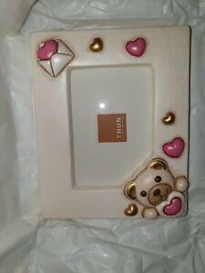 Portafoto Thun Cornice San Valentino Teddy Con Busta Con Scatola