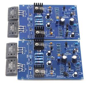 1Paar NAIM NAP140 CLONE Assembled Dual Amplifier Board 80W 8R 2SC3858 AMP