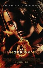 Jennifer Lawrence Signed The Hunger Games 11x17 Movie Poster COA