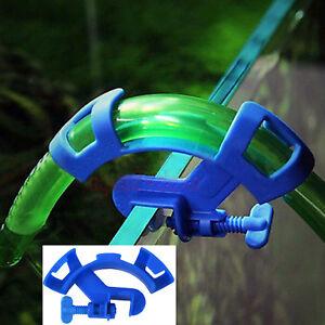 Aquarium Zubehör 🍀 SCHLAUCH HALTERUNG 🍀 Wasserwechsel Außenfilter Klemme (VO)