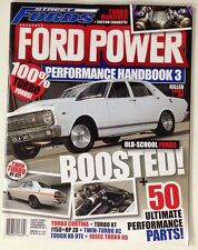 FORD POWER MAGAZINE PERFORMANCE HANDBOOK 3 XY GT TURBO CORTINA XT ZD XR XD 351
