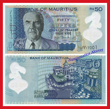 MAURICIO MAURITIUS 50 Rupees rupias 2013 Polymer Pick 65  SC  / UNC