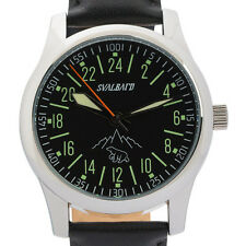 Svalbard 24 hour military watch with Swiss movement. Limited Edition 500 pcs