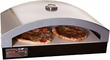 """New listing Camp Chef Artisan Outdoor Pizza Oven, 16"""" Two Burner Accessory, Ceramic Pizza"""